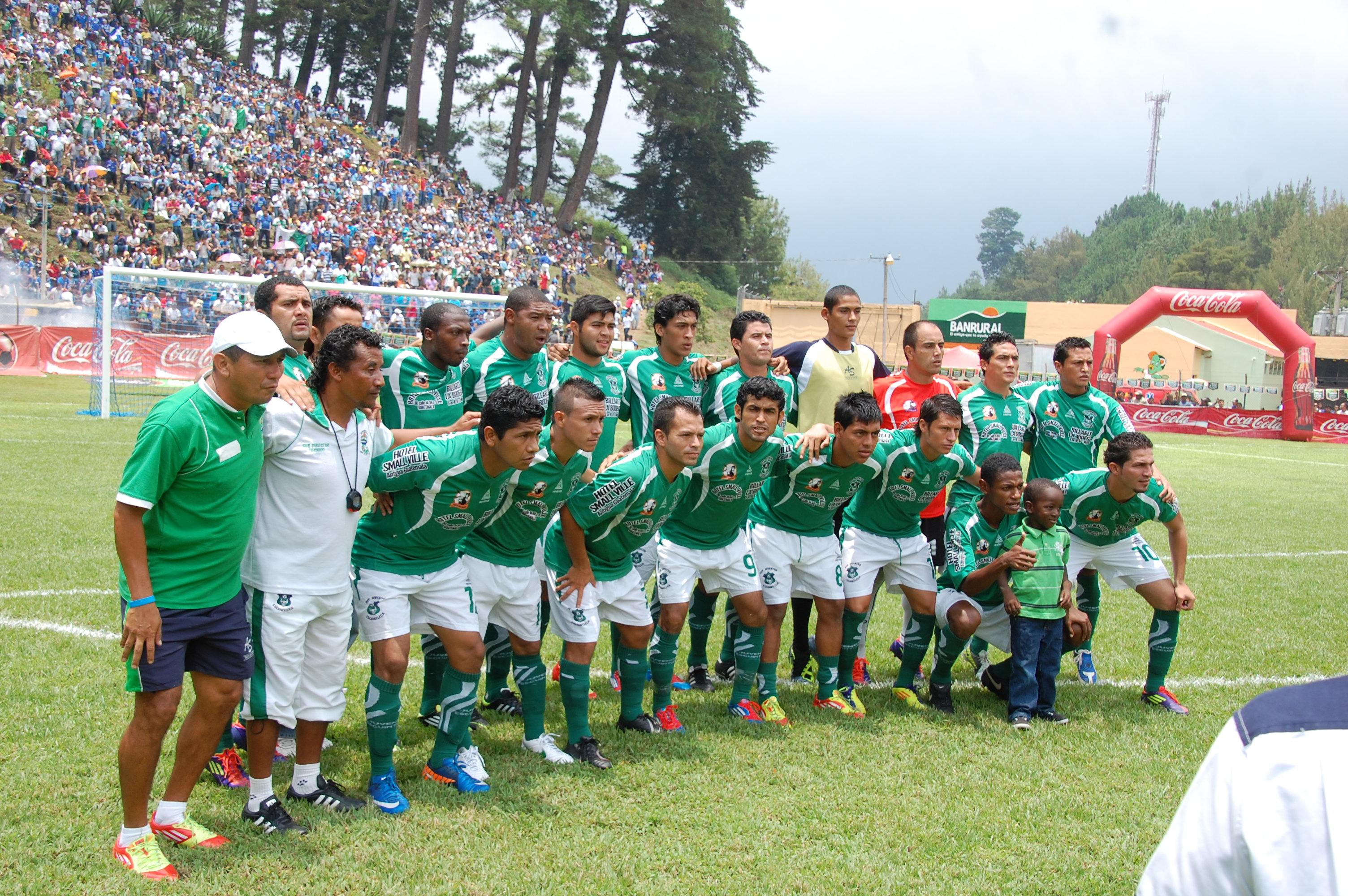 Juventud Escuintleca a la Liga Mayor, Escuintla subió por primera vez en 1954