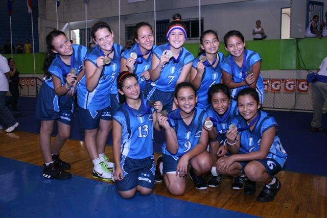Guate se corona en el basquet escolar primario