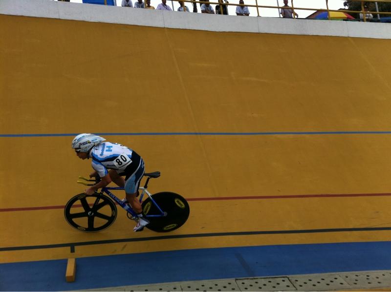 Rodas rodó al podio en el Panamericano