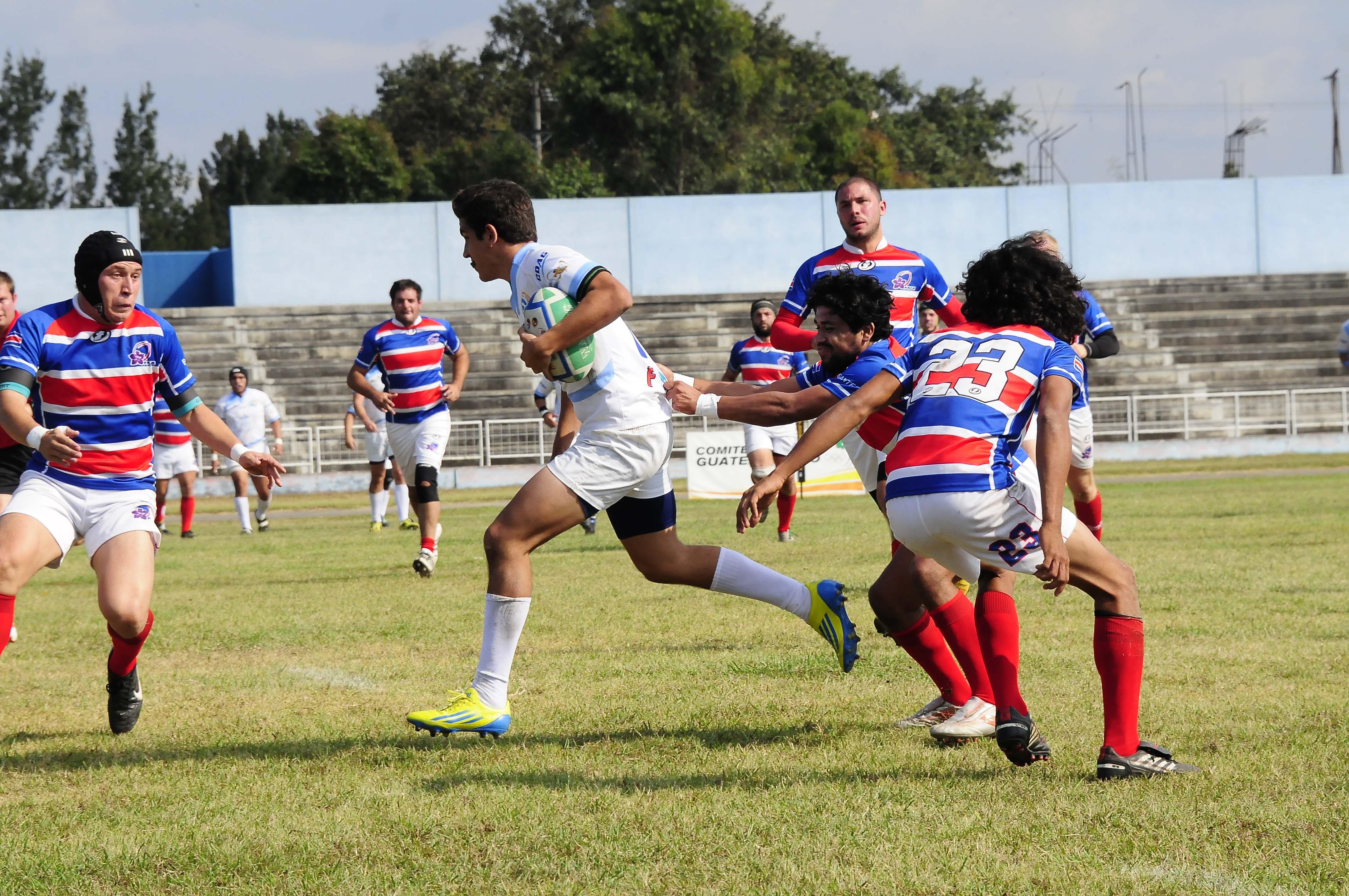 Guatemala subcampeón del Centro-Sudamericano de Rugby
