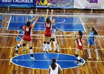 Triunfo de Guatemala en el Campeonato Centroamericano Femenino de Voleibol