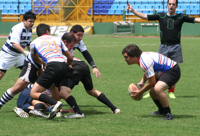El rugby chapín sale de viaje