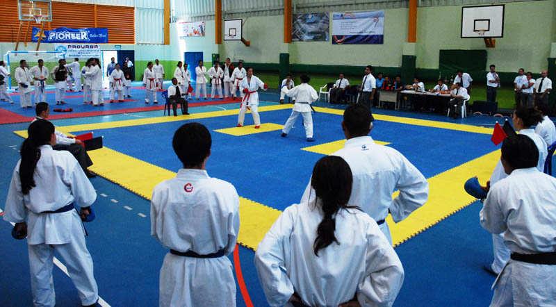 Karatecas nacionales al Panamericano
