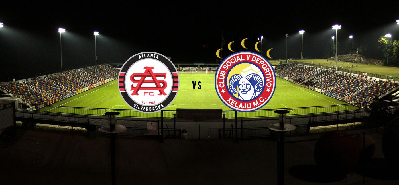 Anuncian el juego Atlanta Silverbacks vs Xelajú