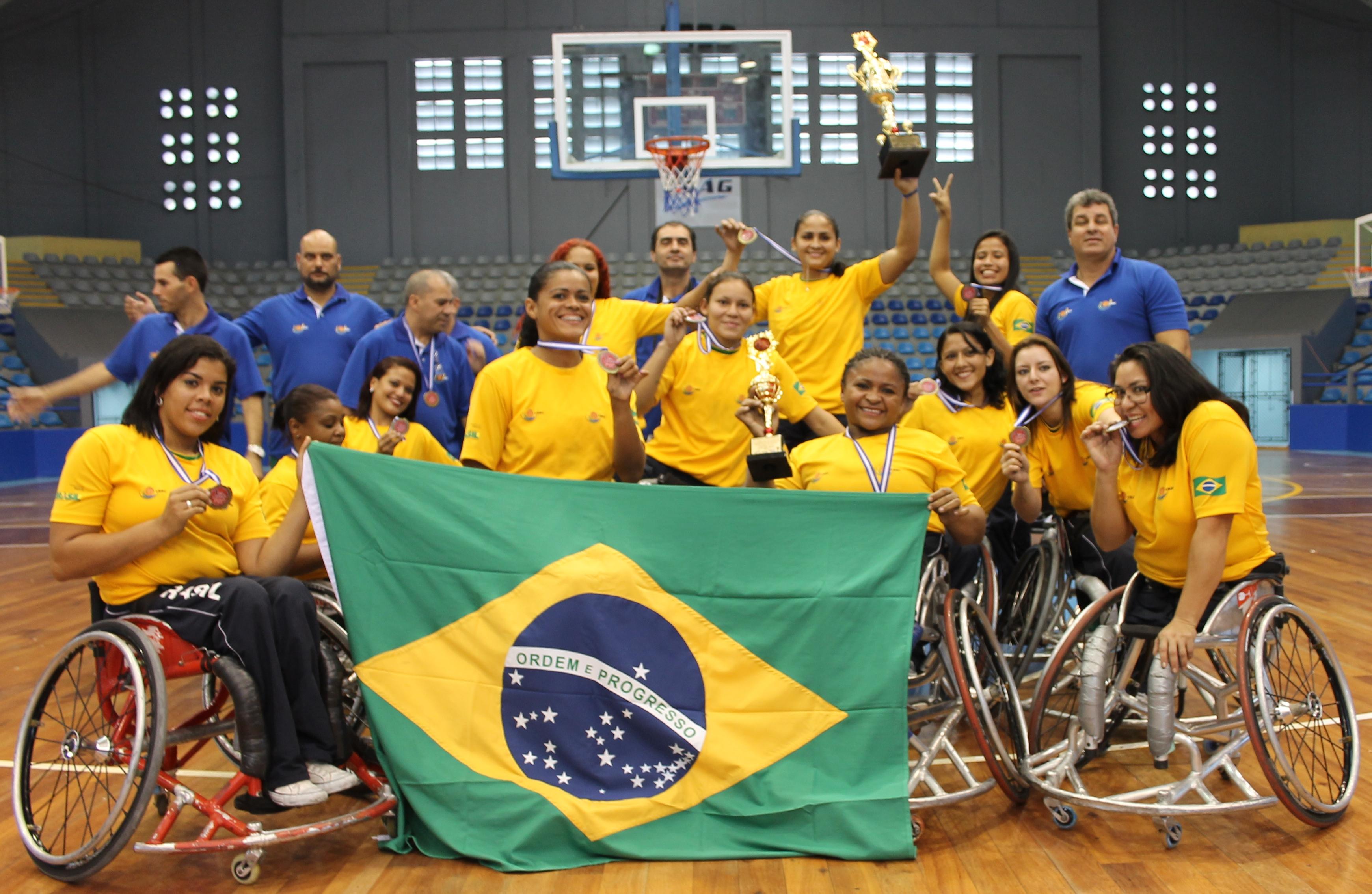 Brasil campe n del baloncesto en silla de ruedas antorcha deportiva deportes guatemala - Baloncesto silla de ruedas ...