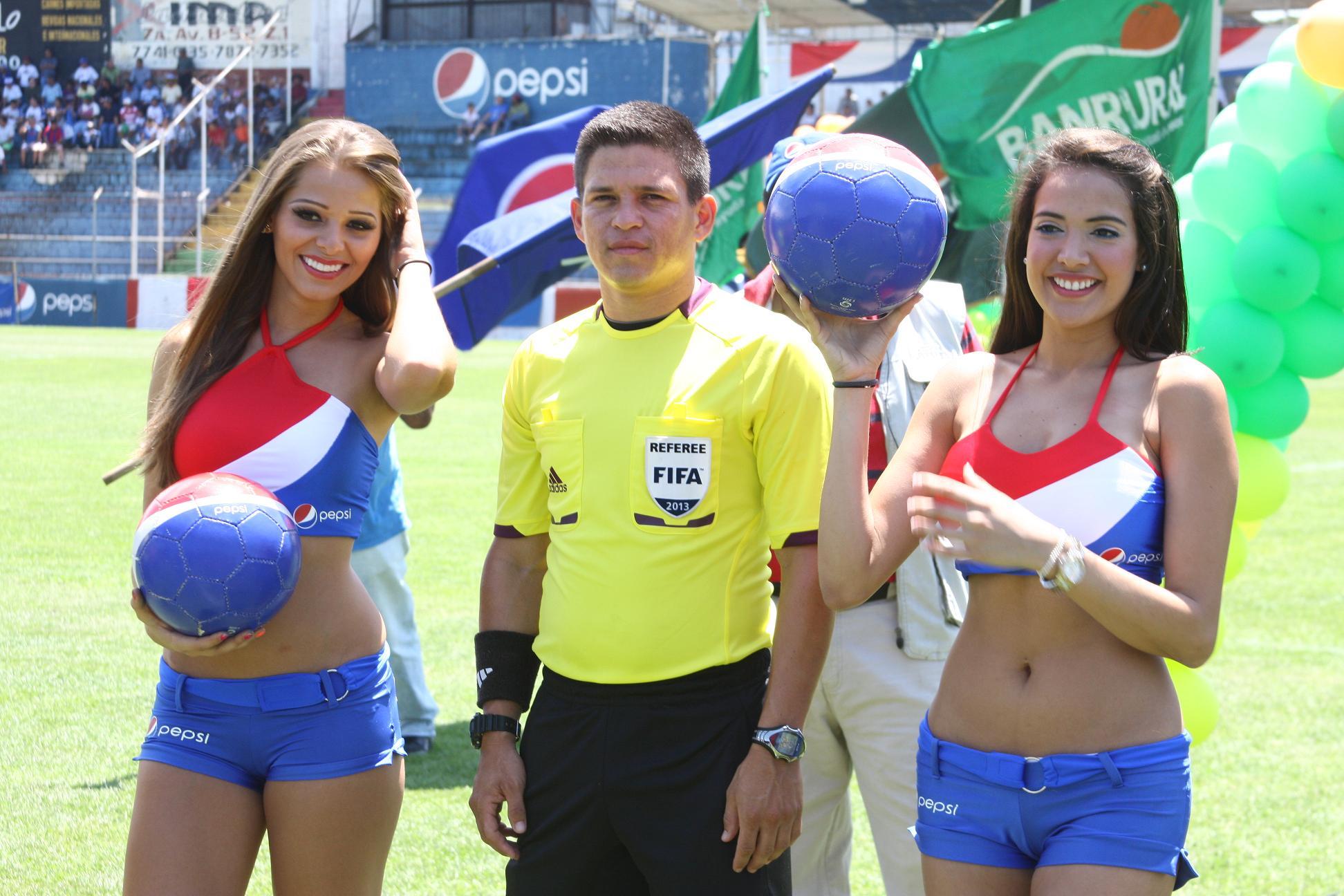 Los árbitros para la jornada de media semana