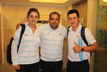 Golf, primera delegación a competir en los Bolivarianos