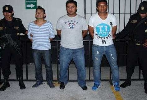 Dagoberto Arriola es capturado por la PNC
