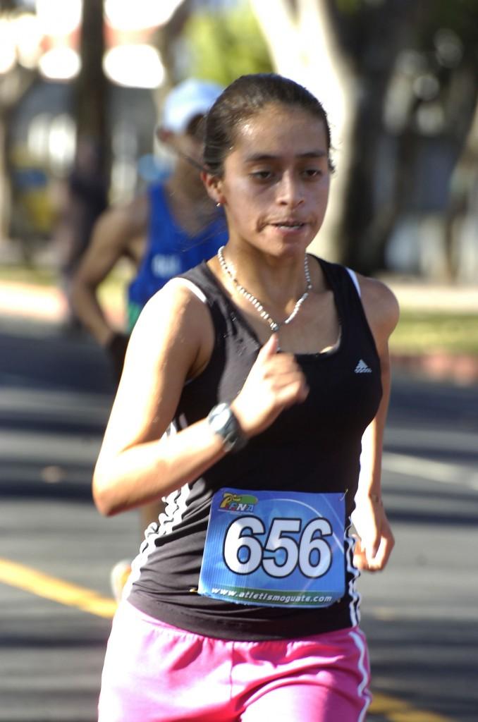 Resumen del CA de atletismo juvenil en México
