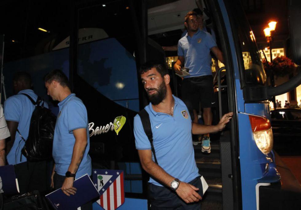 El Atlético llega a EE UU