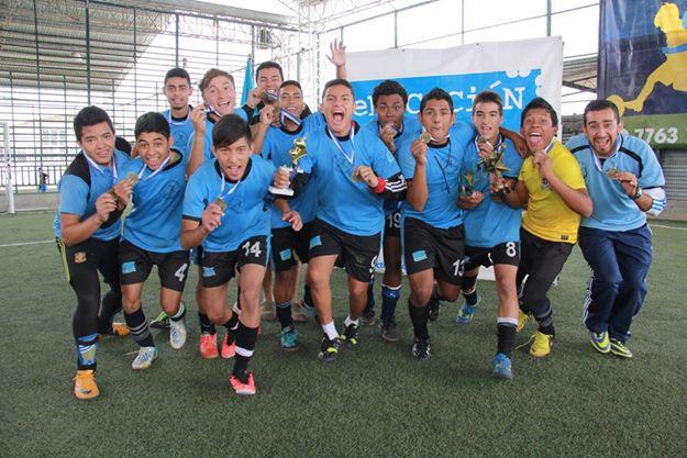 ENCEF conquistó el título en futsala escolar