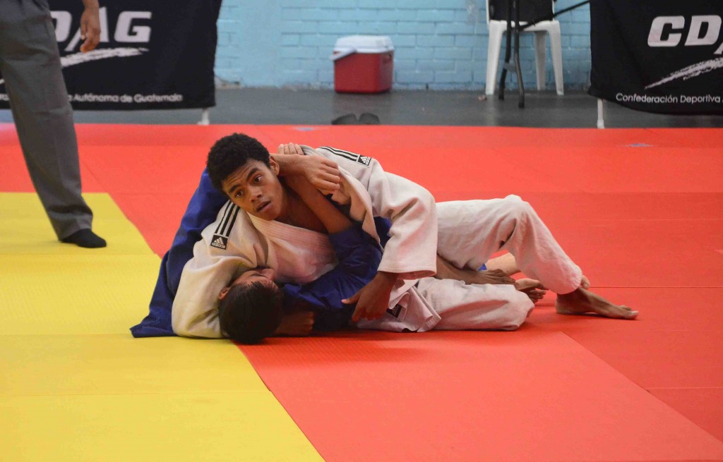 Fiesta deportiva en el Judo
