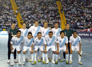 Los rivales de Guatemala para el Mundial de Futsal