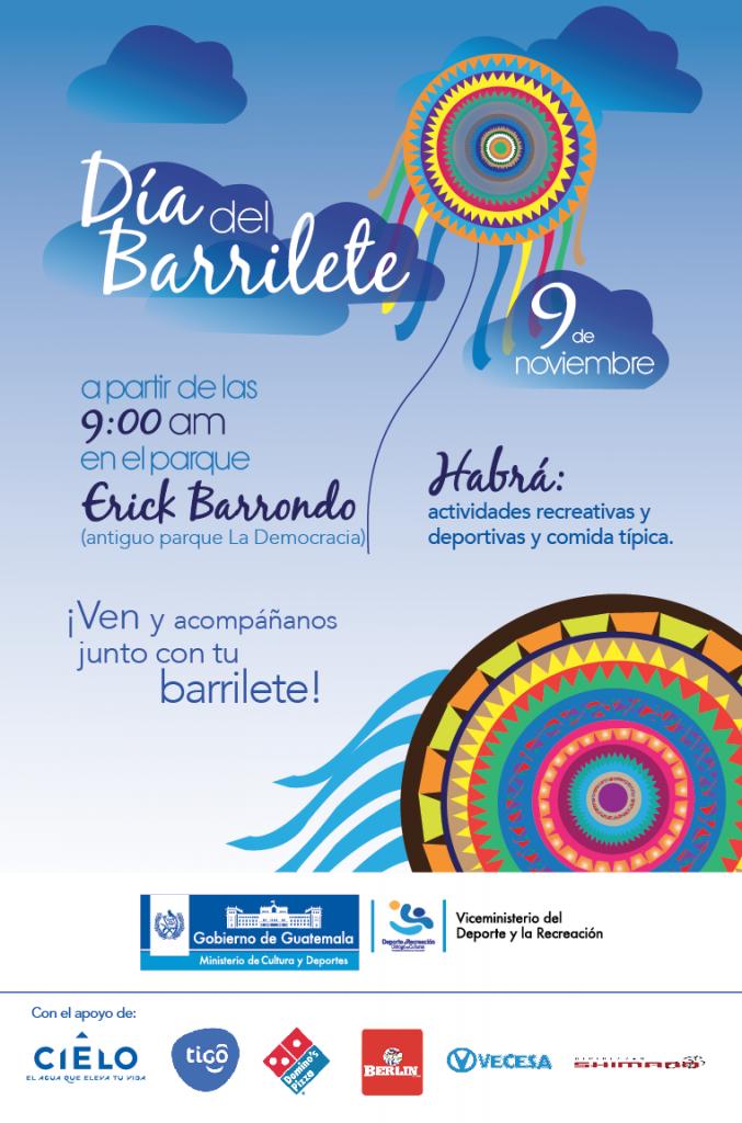 afiche diu0301a del barrilete con patrocinadores