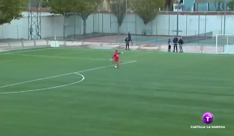 (((VIDEO))) Gol de portero desde el área