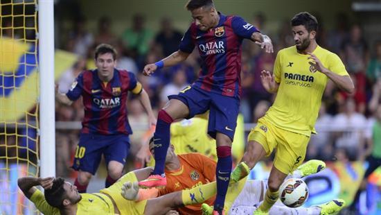 (((VIDEO))) Barcelona 3-2 Villarreal
