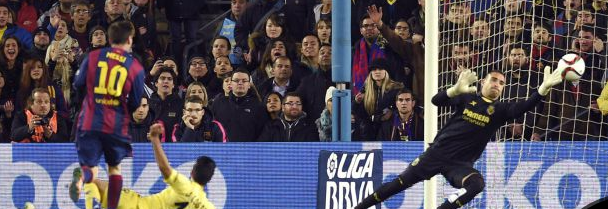 (((VIDEO))) El Barça deja al Villarreal escapar vivo del Camp Nou