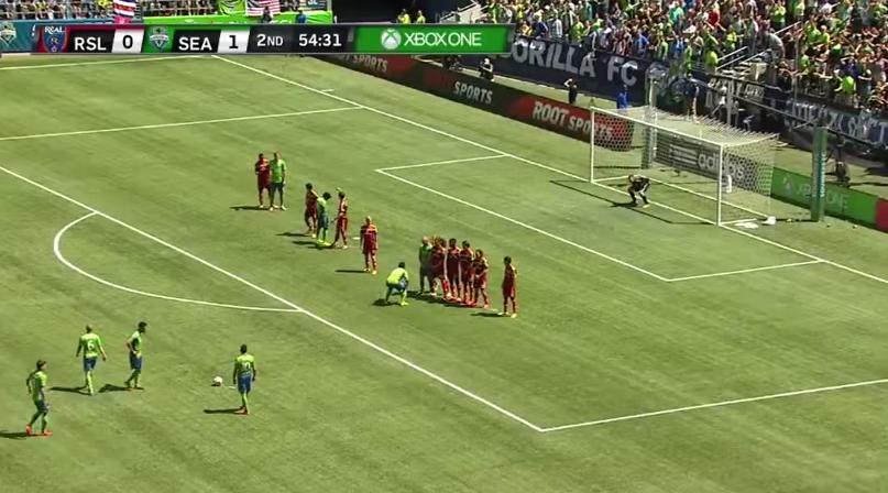 (((VIDEO))) Marco Pappa, maestro del tiro libre en la MLS