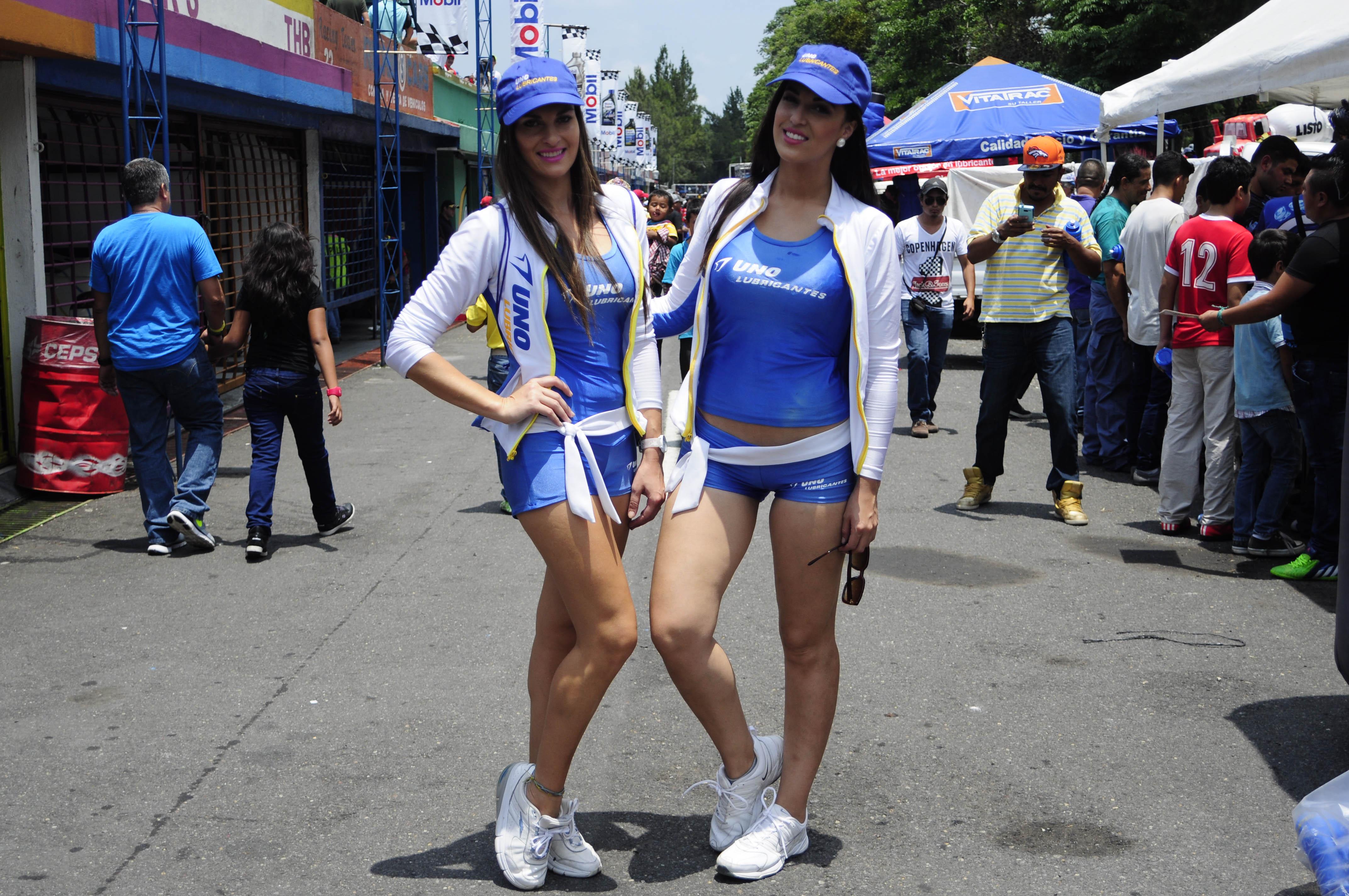 1 Karina Zanabria Uruguay  2. Lisbeth Parra - Venezuela