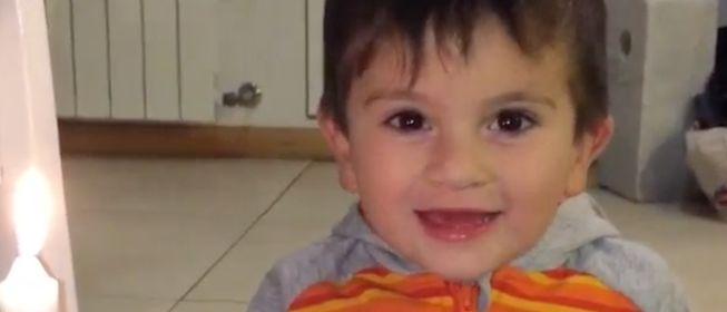 (((VIDEO))) Que los cumplás feliz, dice el pequeño Messi