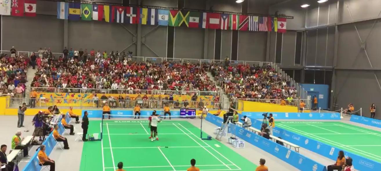 (((VIDEO))) Kevin Cordón es Campeón Panamericano de Bádminton