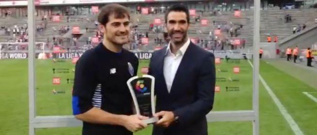 """Casillas: """"Ahora devolveré el cariño con buenas actuaciones"""""""