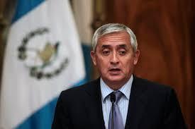 (((VIDEO))) Renunció Otto Pérez Molina