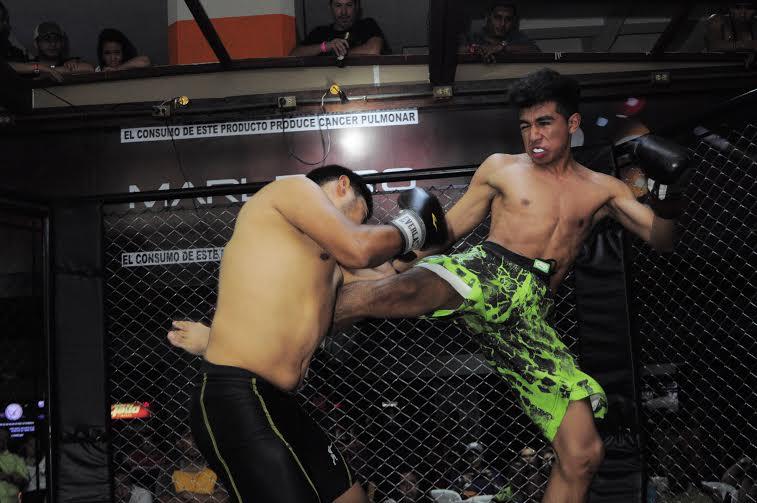 (((FOTOS))) La acción de la Liga MMA