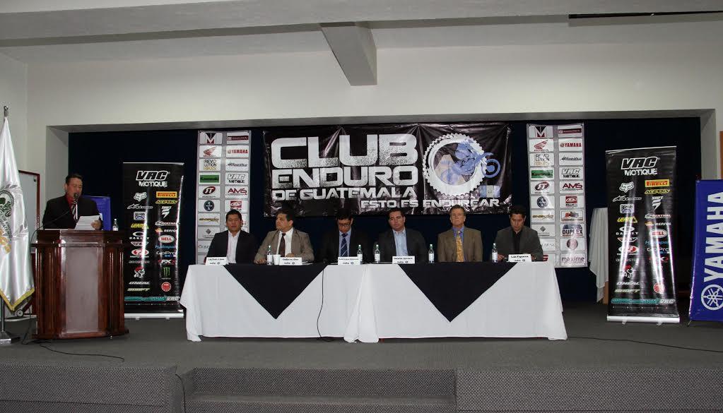 Enduro presentó su Campeonato Nacional 2016