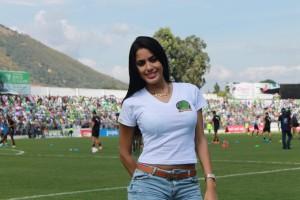 (((FOTOS))) Astrid y el intercambio de jugadores en la Liga Nacional