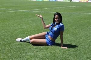 (((FOTOS))) Primera División: semifinales ida, Astrid con los resultados