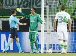 Keylor dejó su registro en 738' sin encajar gol en Champions