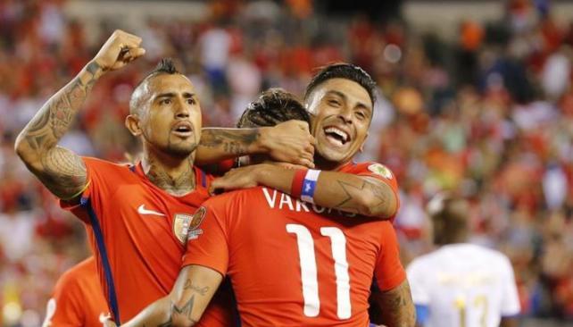 (((VIDEO))) Chile, a semifinales con un repaso histórico a México y recital de Vargas