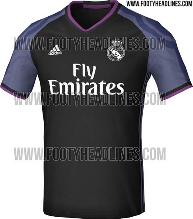 Así es la tercera equipación del Real Madrid 2016/2017