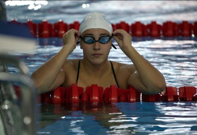 Río 2016: Valerie Gruest cumple en los 400 metros de la natación