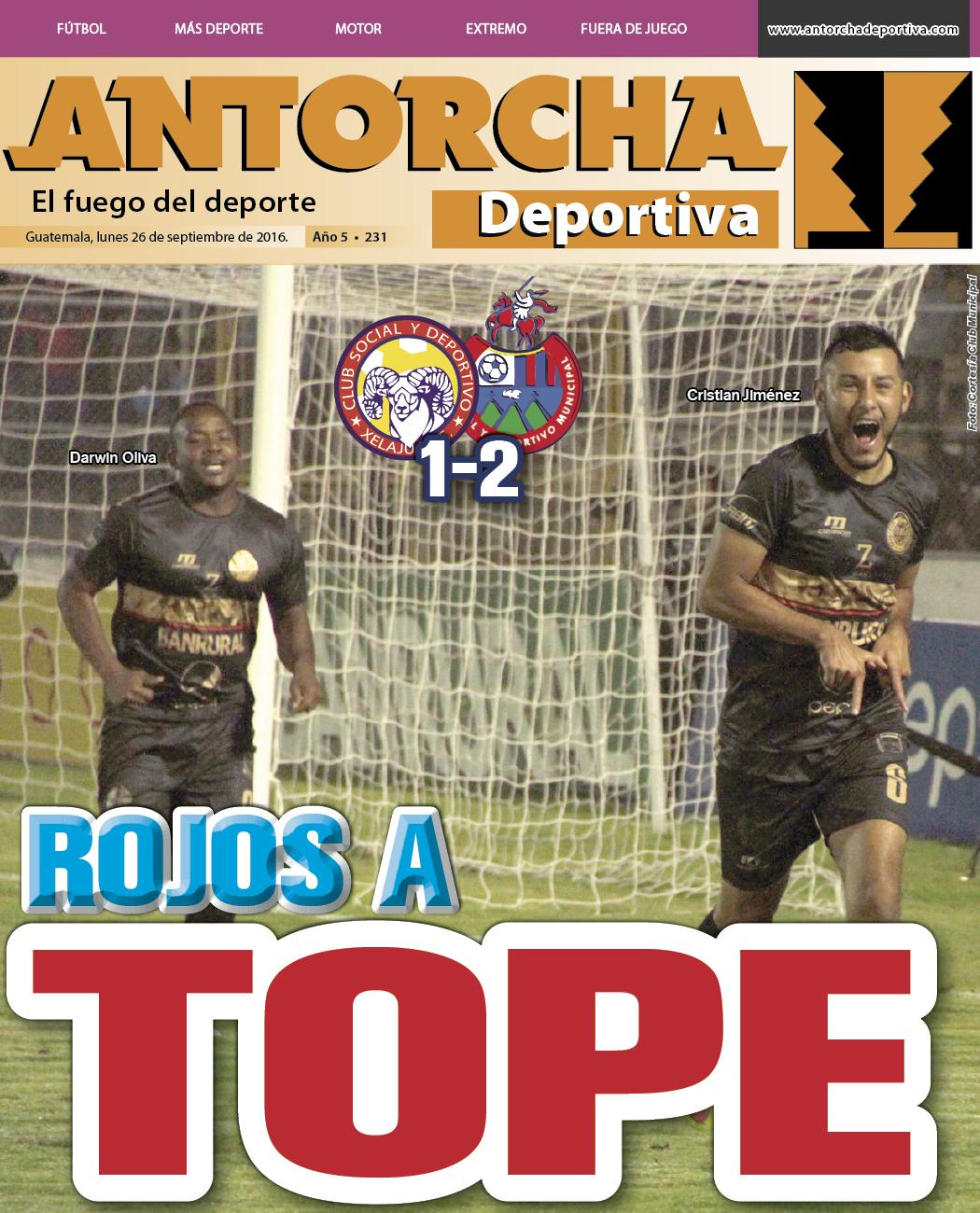 Antorcha Deportiva – Edición Semanal No.231