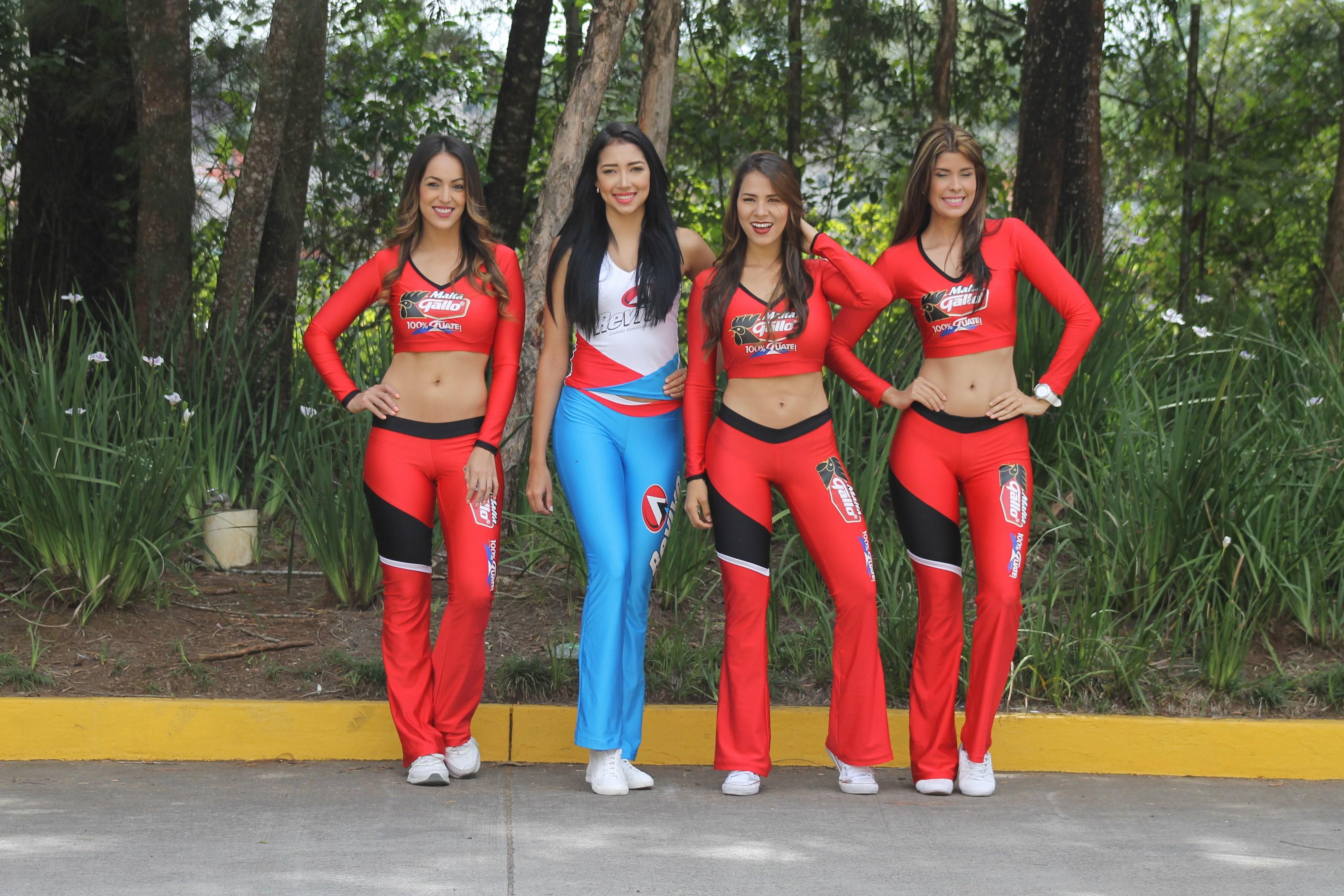 Vuelta a Guatemala, previo etapa 7 con las Chicas Gallo