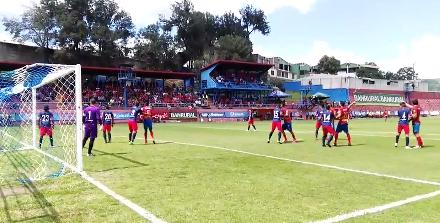 Resultados del futbol guatemalteco