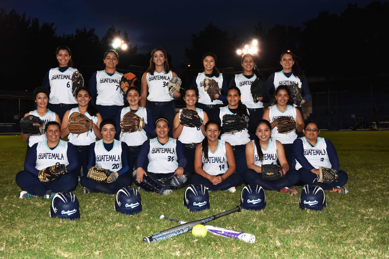 Guatemala camino del XVI Torneo Centroamericano de Softbol femenino