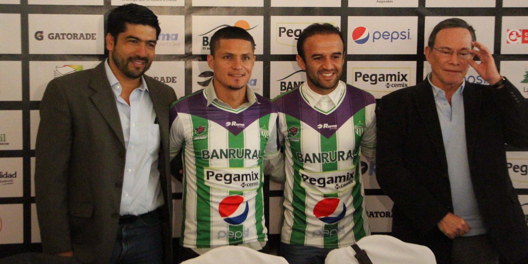 Contreras y Arreola se unen a Antigua GFC