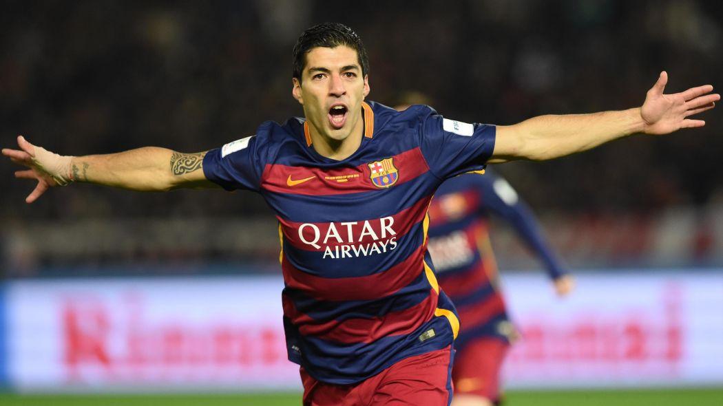 Suárez, máximo goleador mundial del 2016, según el IFFHS