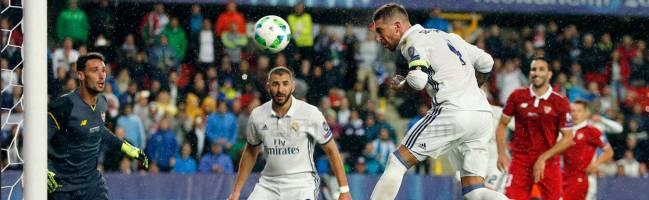 Sergio Ramos: nueve goles que ya son historia del Real Madrid