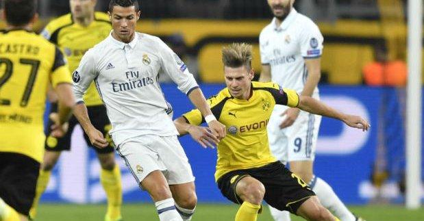 (((VIDEO))) Champions: Empate del Real Madrid, Dortmund primero del grupo
