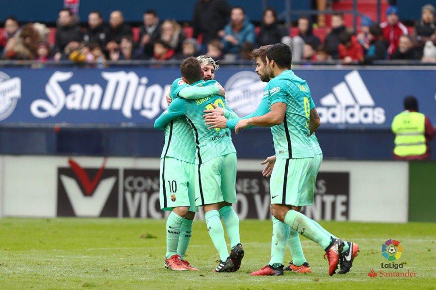 (((VIDEO))) El Barcelona se reencuentra con la victoria en la Liga