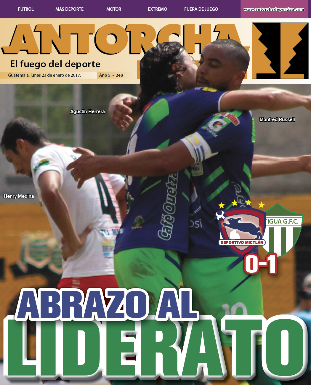 Antorcha Deportiva – Edición Semanal No.248