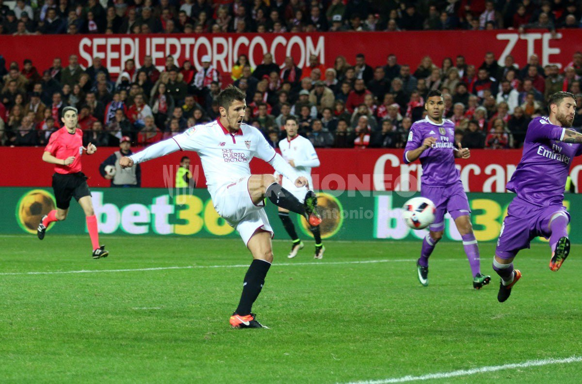 (((VIDEO))) El Sevilla gana y pone fin a la racha del Real Madrid