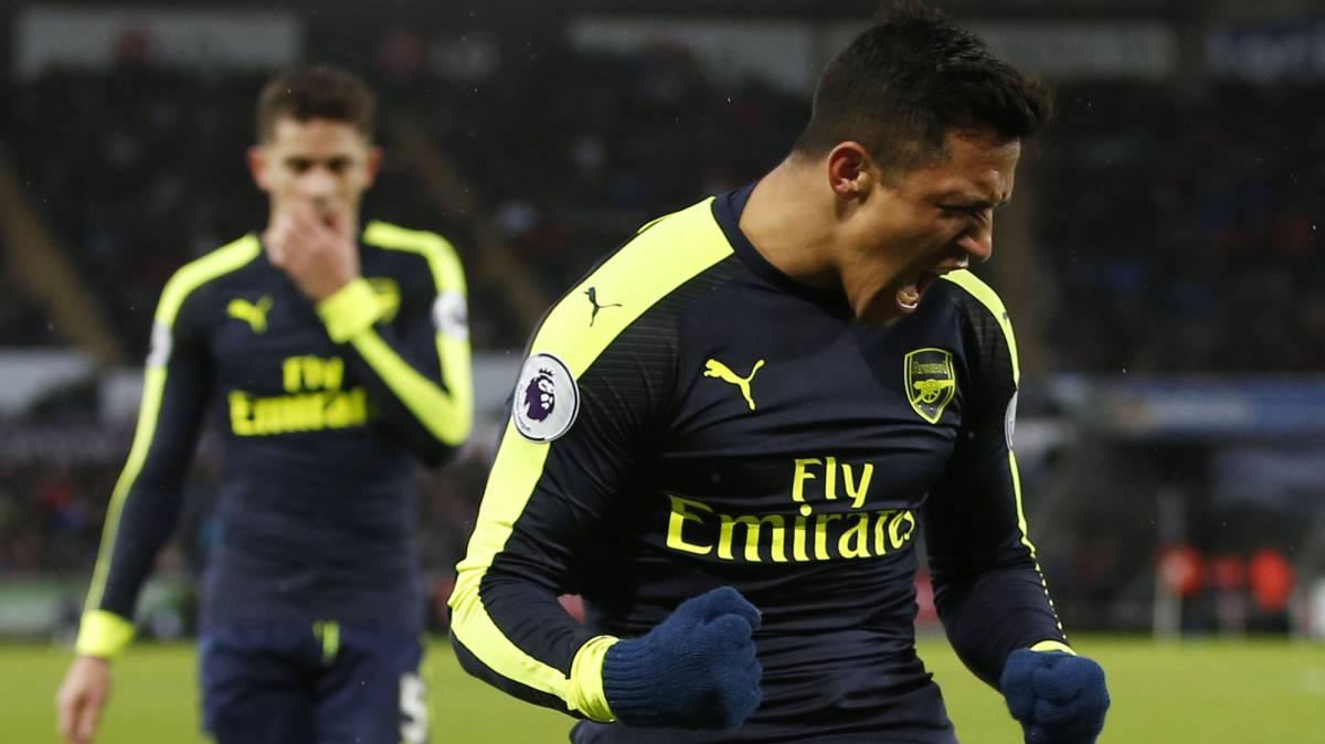 Henry le dice a Alexis Sánchez que se quede en el Arsenal