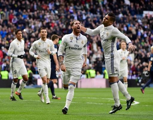 (((VIDEO))) Ramos con doblete para la victoria del Real Madrid
