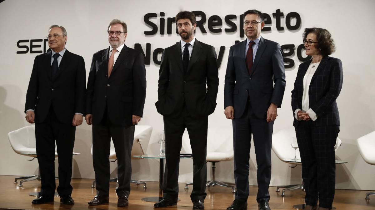 """""""Es hora de expulsar a violentos y xenófobos del fútbol"""""""