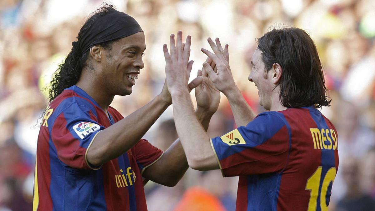 La carta de Ronaldinho sobre cómo descubrió a Messi